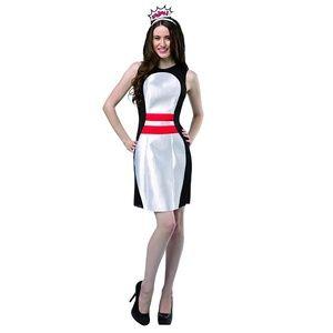 NWT Rasta Imposta Get Real Bowling Pin Dress OS